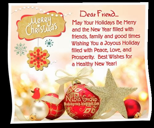 Best Christmas Greetings Sayings For Friends