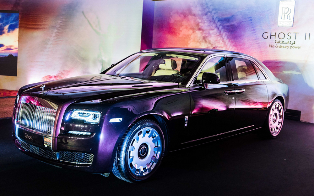 Rolls-Royce Ghost Series II Makes its Debut in Oman