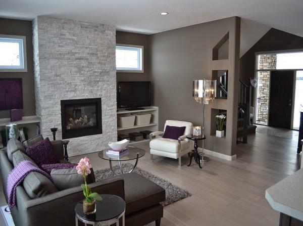 Conceptions salons avec carrelage en bois d coration for Deco salon avec carrelage gris