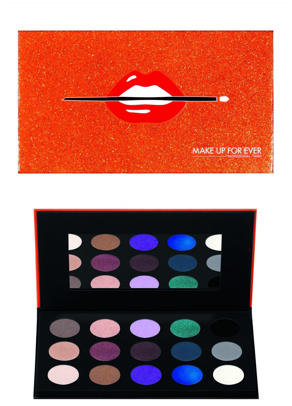 15 Artist Shadow Palette