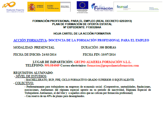 formacion profesional junta andalucia: