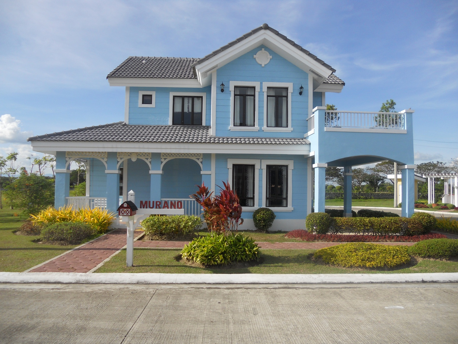 murano model house of savannah crest iloilo by camella