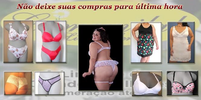 Lingerie plus size,loja on line,tamanhos especiais,gordinhas,46 ao 60