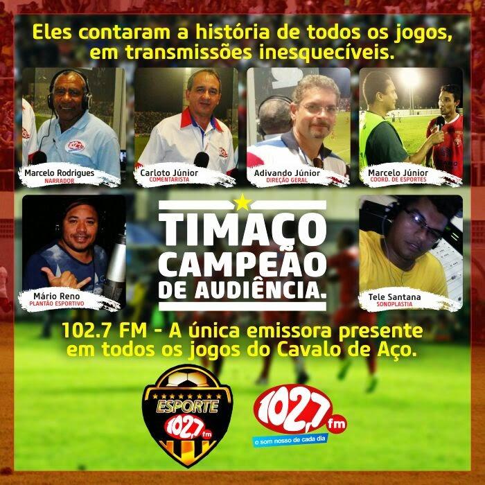 Rádio 102,7 FM fez história