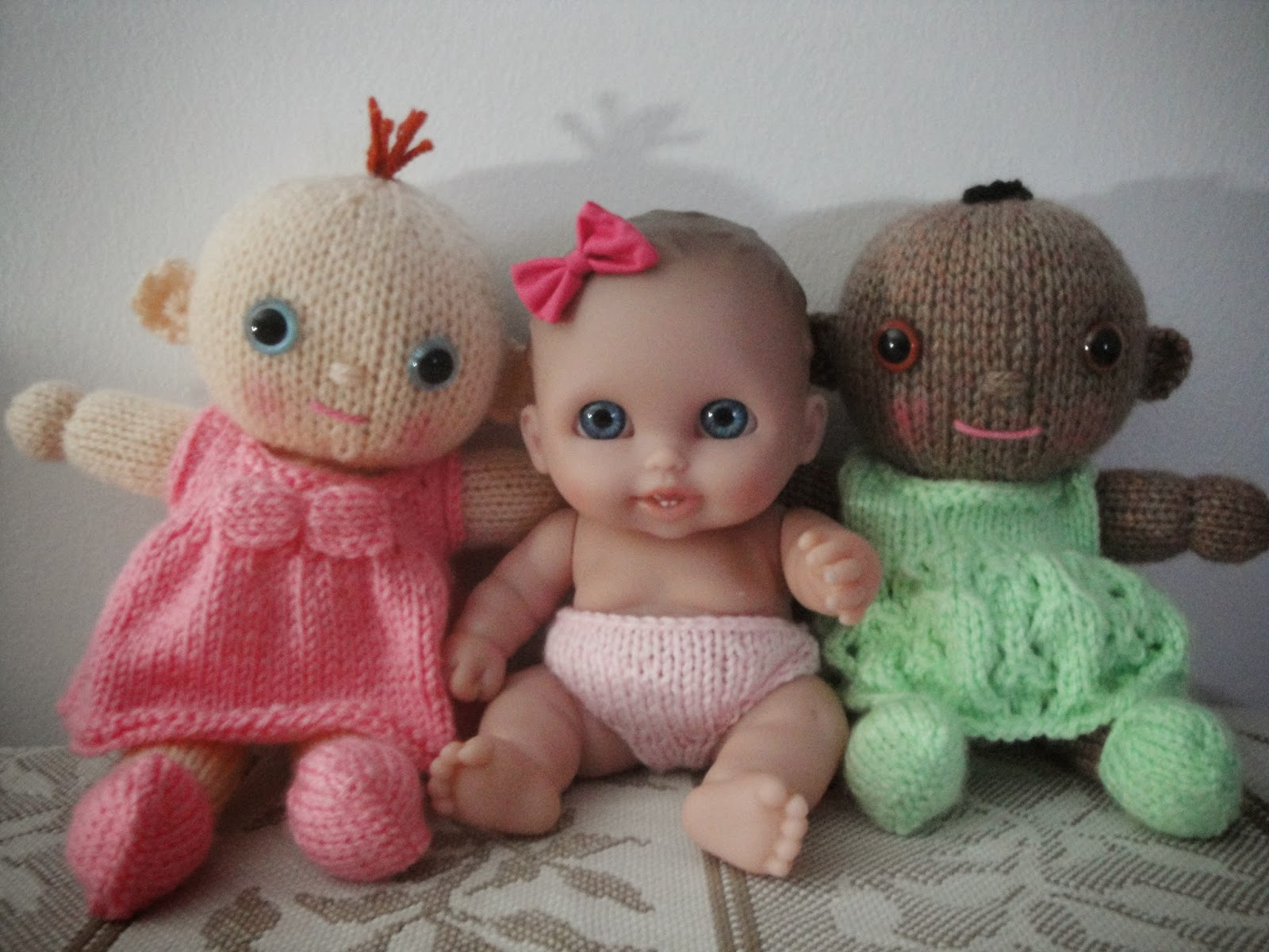 Knitting Baby Doll : Chiwaluv amigurumi critters knit berenguer doll lil