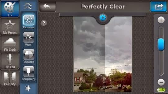 تحميل تطبيق perfectly Clear لتحسين جودة الصور لانظمة اندرويد