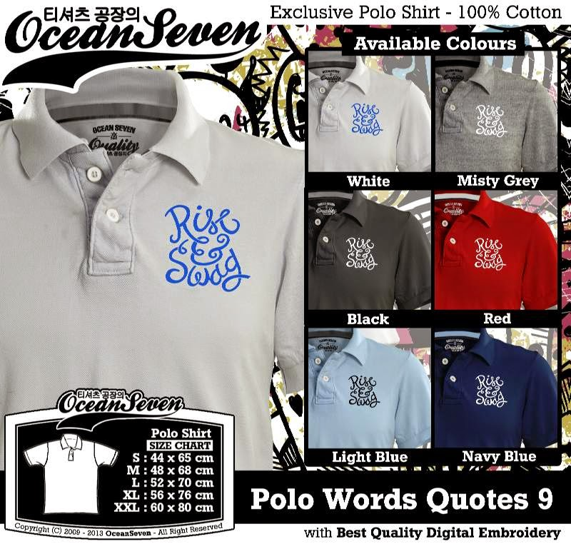 Kaos Polo Words Quotes 9