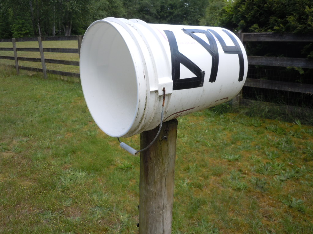 Unique mailboxes mairgwall custom vinyl quotes address for Funny mailboxes for sale