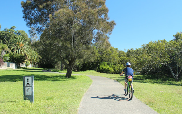 Gosford to Woy Woy shared cycle path