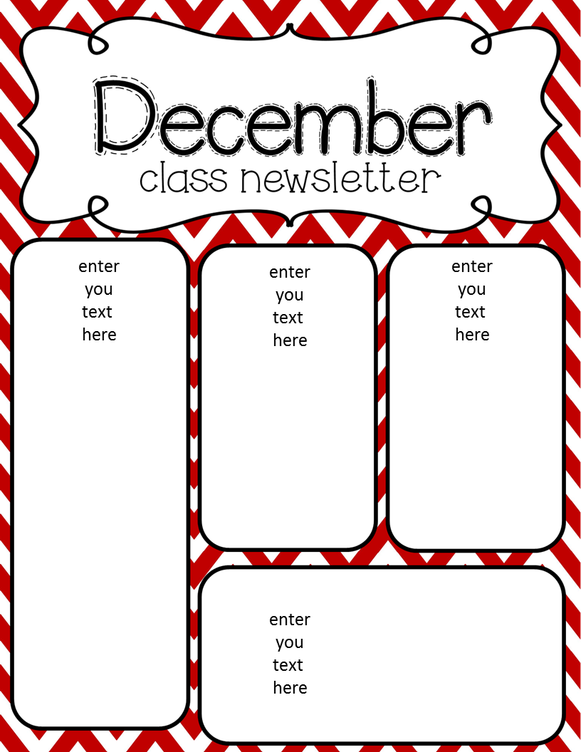 Simply Delightful in 2nd grade: December Newsletter Freebie!!!
