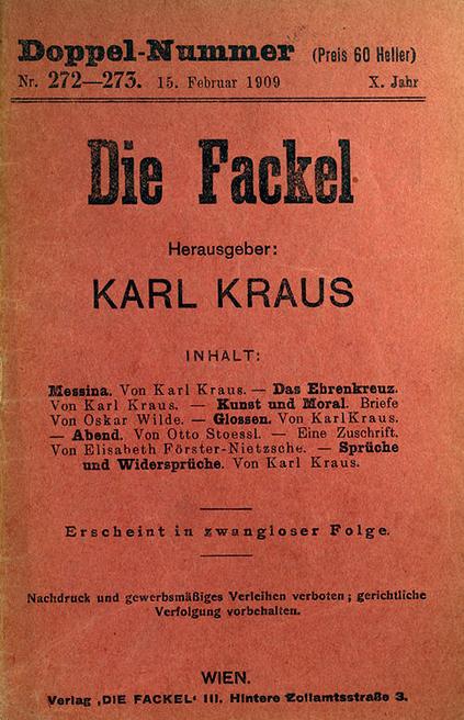 Karl Kraus Zitate