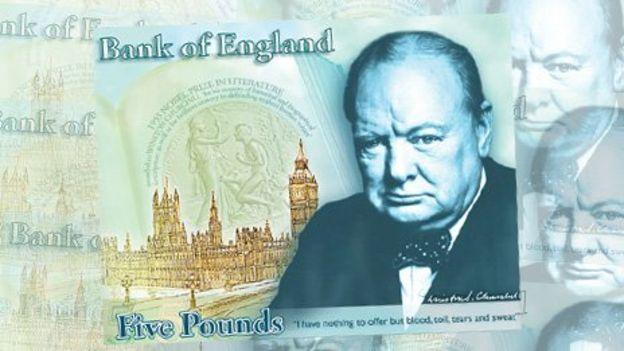 Banco da Inglaterra: notas de plástico começam a circular em 2016