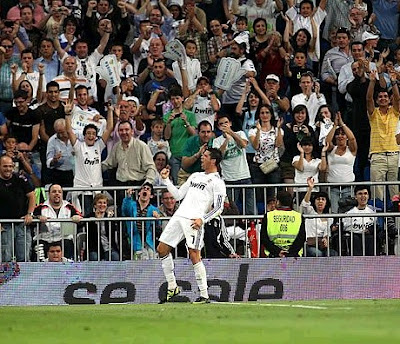 Cristiano Ronaldo scored the 40th goal of the League