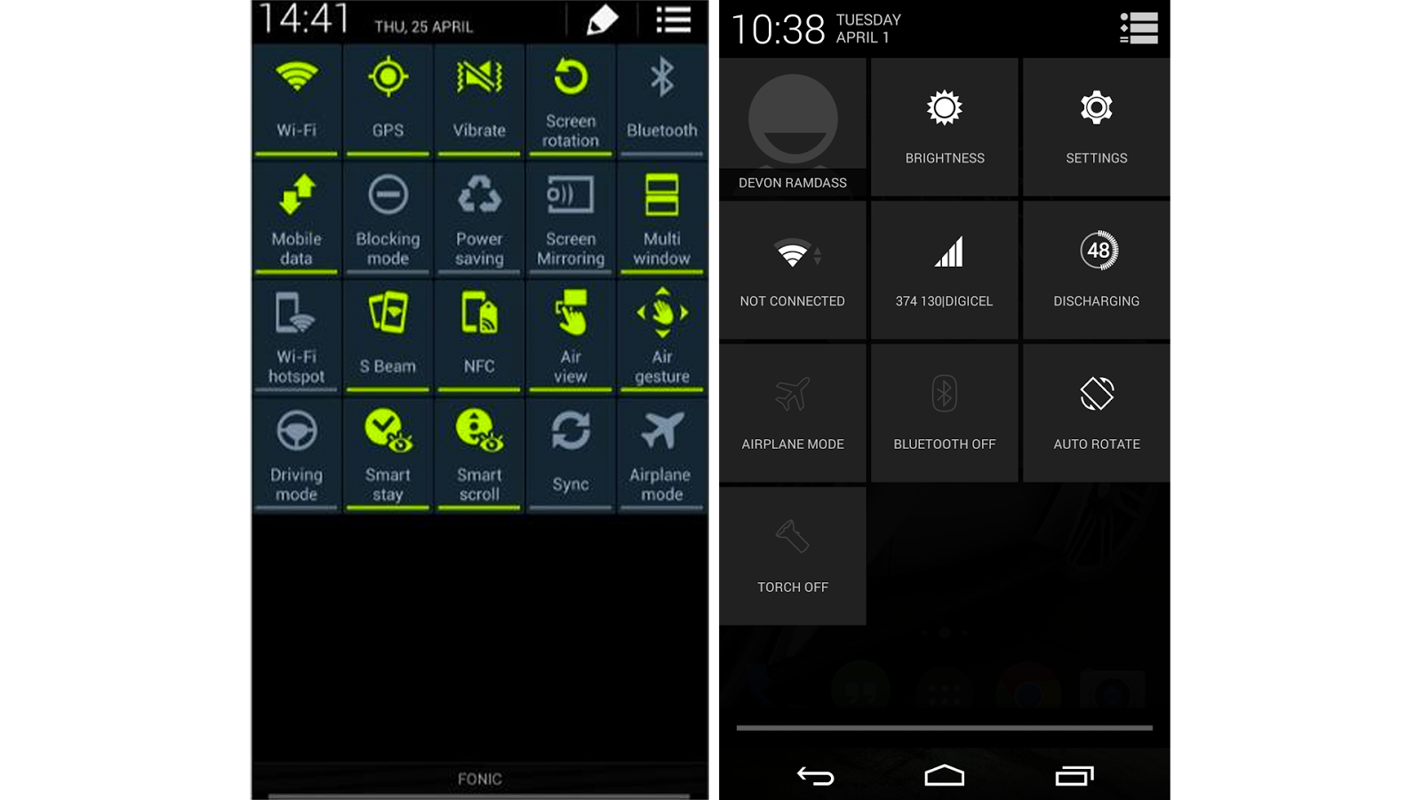 Touchwiz vs Pure Android