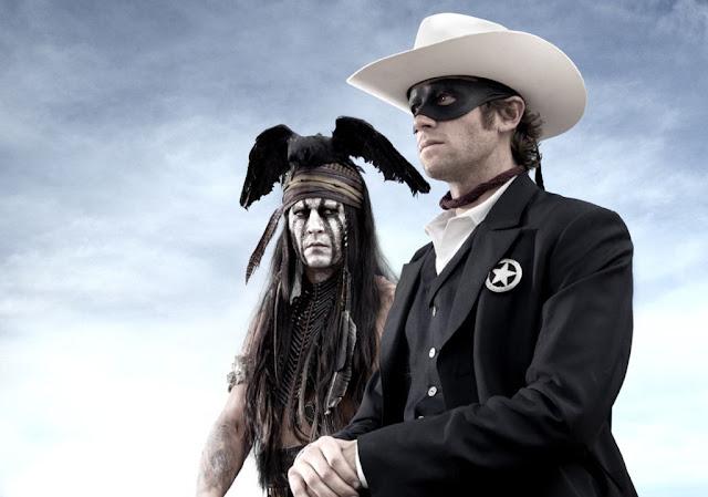 The Lone Ranger - Johnny Depp e Armie Hammer