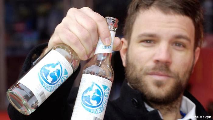 Entrevista - Benjamin Adrion do Viva con Agua