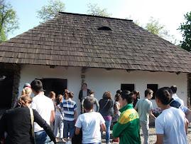 La Casa Memorială Ion Creangă, 20.V.2011...