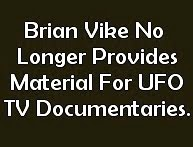 No Material For UFO Documentaries
