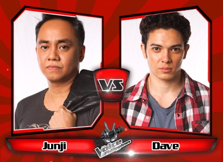 Junji Arias vs Dave Lamar | The Voice of the Philippines Battle Rounds