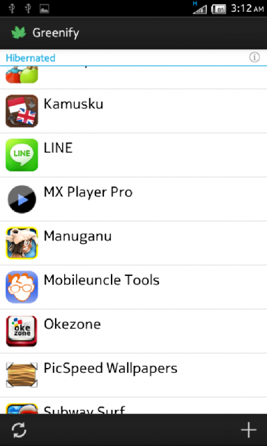 Greenify ~ Menonaktifkan Aplikasi Yang Berjalan di Android 1