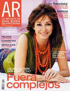 Ana Rosa es portada en cada número de su revista
