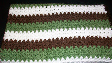 Peppermint Patty Hugs Blanket