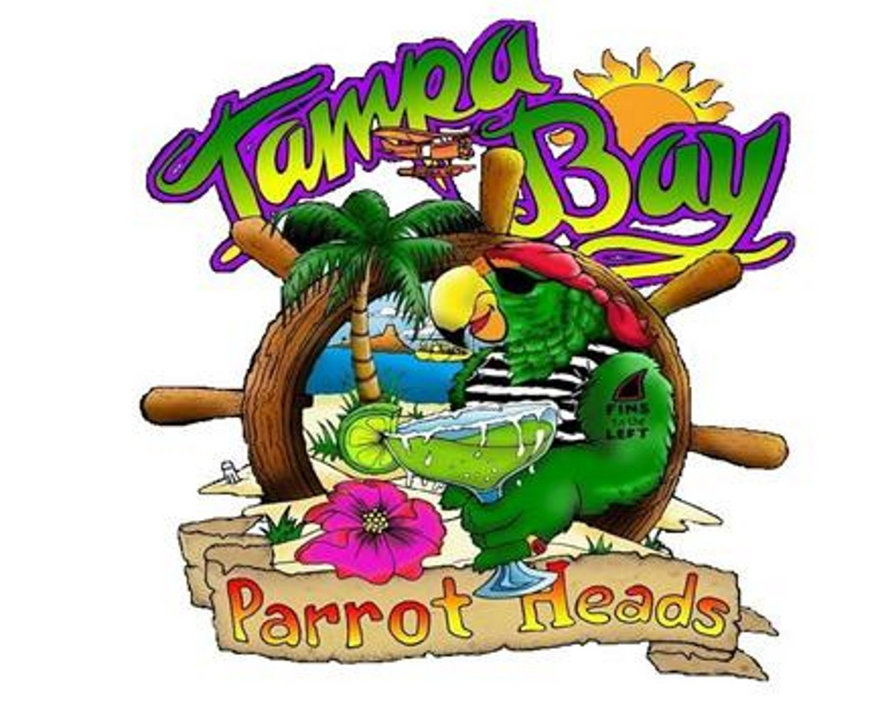 The Skipper's Blog: HAPPY BIRTHDAY TAMPA BAY PARROT HEADS in PARADISE ...