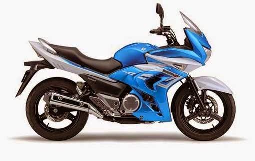 Suzuki Inazuma 250F Blue White