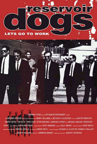Jameson Cult Film Club Reservoir Dogs Poster