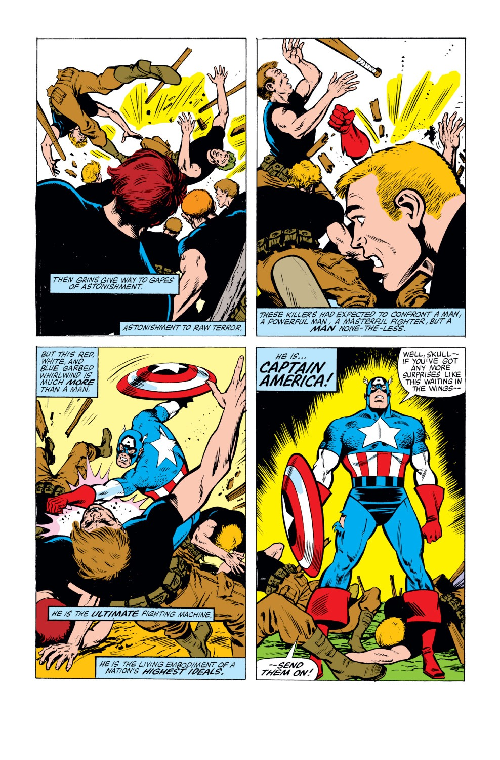 Captain America (1968) Issue #263 #178 - English 12