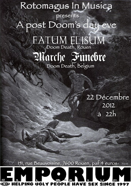 Fatum Elisum / Marche Funèbre @ Emporium Galorium, Rouen 22/12/2012