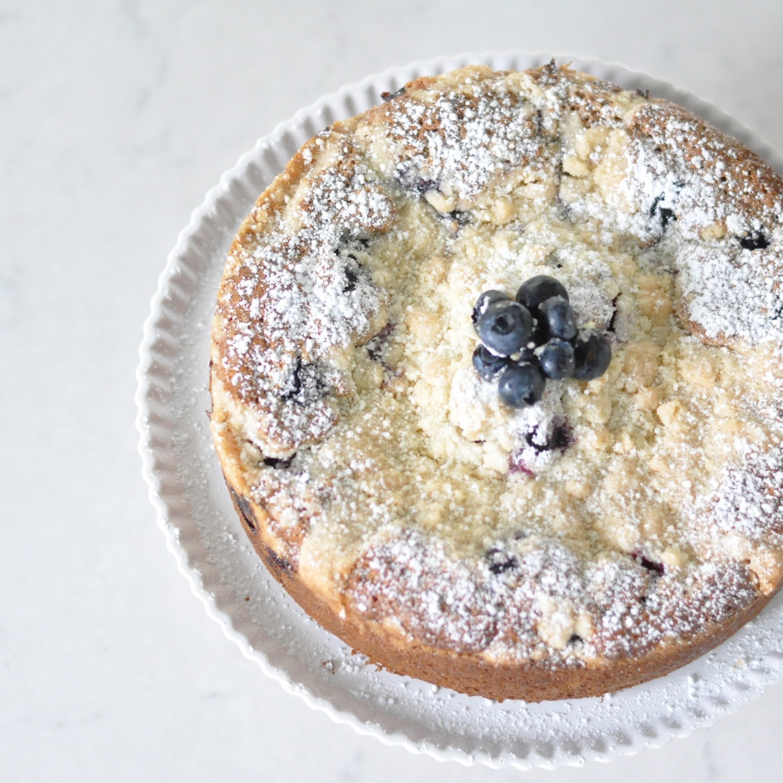 Blueberry Lemon Crumb Coffee Cake
