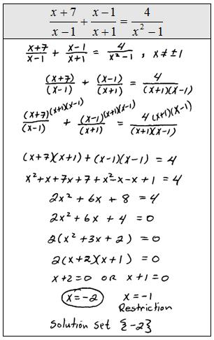 solving rational fractional equations worksheet linear. Black Bedroom Furniture Sets. Home Design Ideas