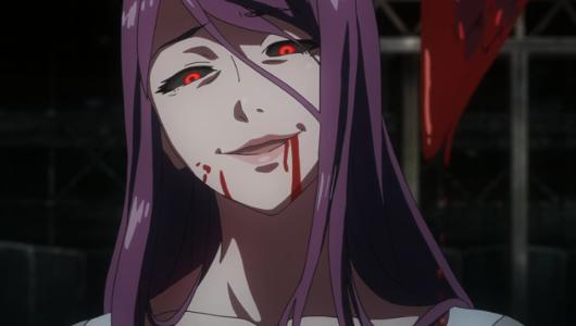 Recenzja anime Tokyo Ghoul (2014). Studio Pierrot.
