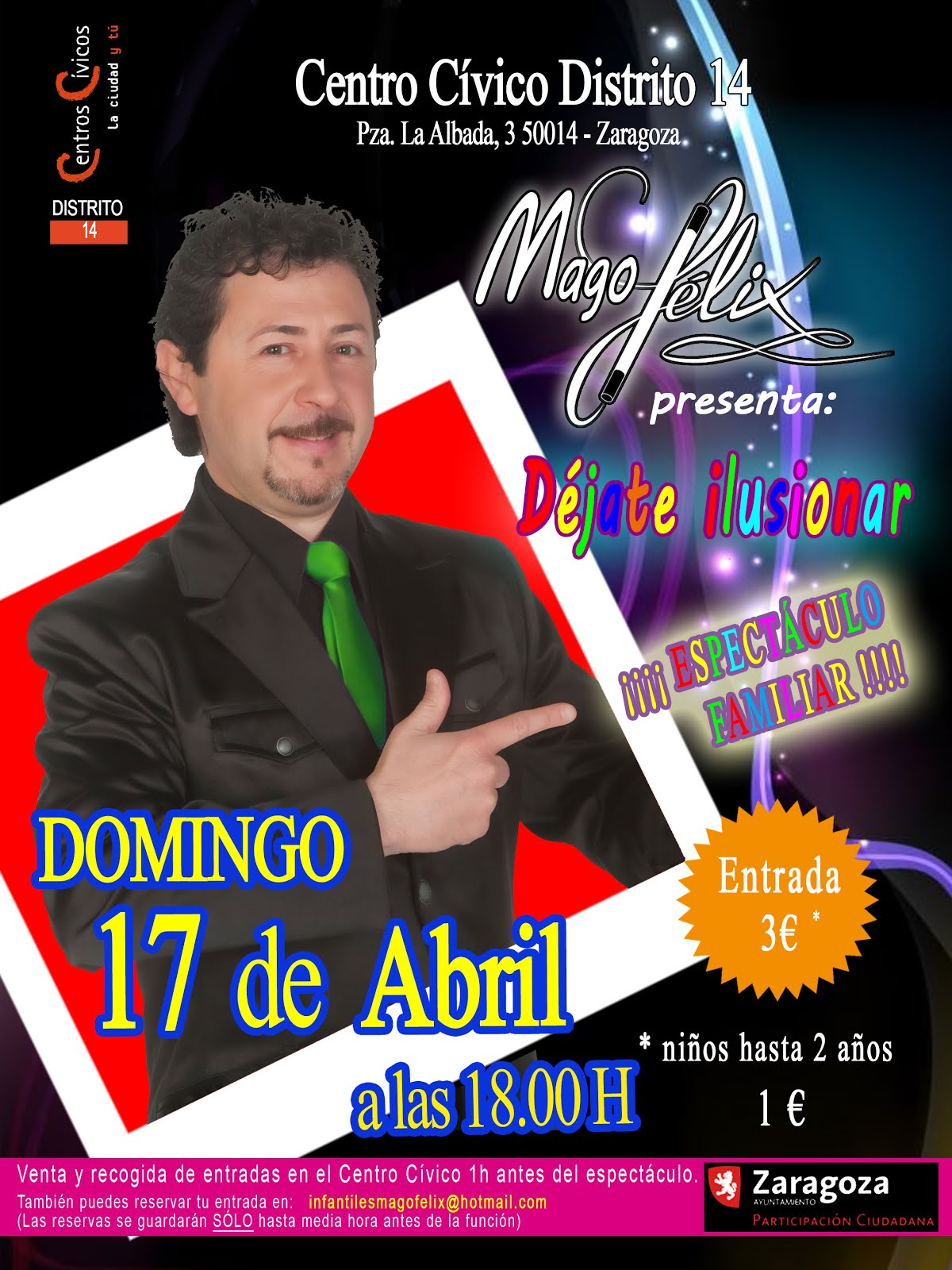 Domingo 17 de Abril de 2016