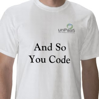 And So You Code shirt