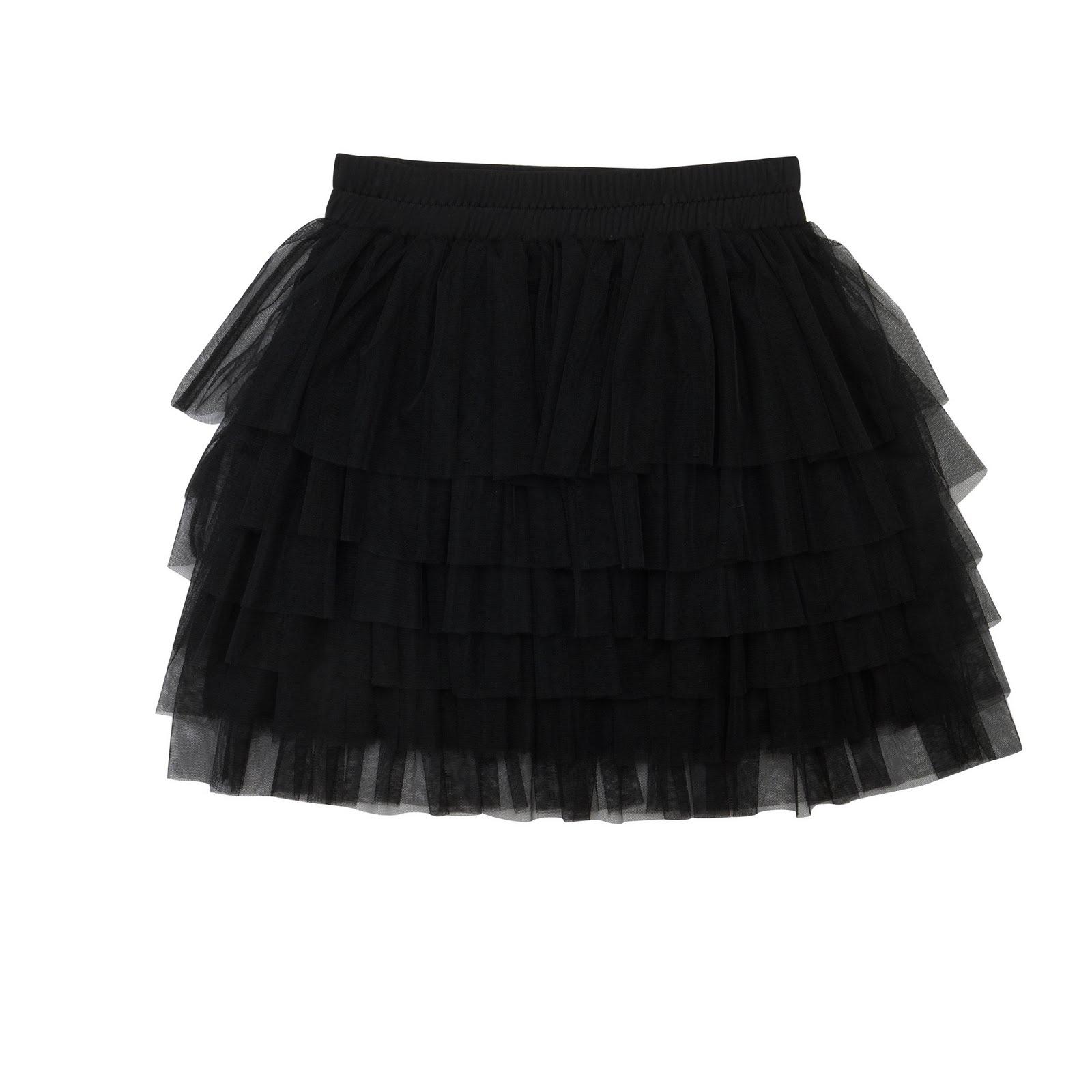 El año pasado me compre una falda de tul negra, fuésemos donde ...