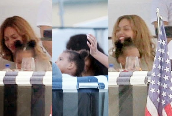Blue Ivy Carter Hair Bun Beyonce Puts Blue Ivy 39 s Hair