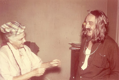Ti and Big, my grandparents dressed as hippies for Halloween