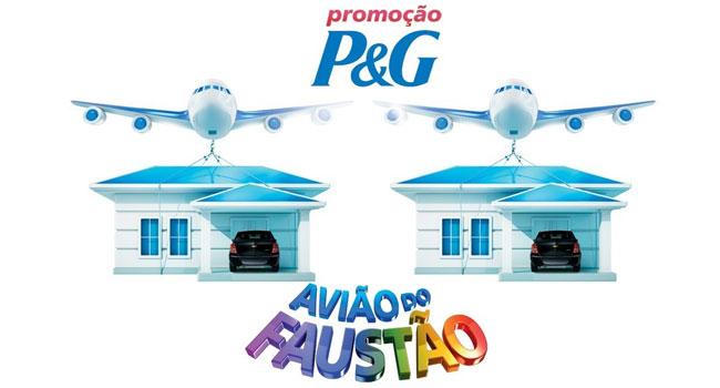 Promoção Avião do Faustão 2014
