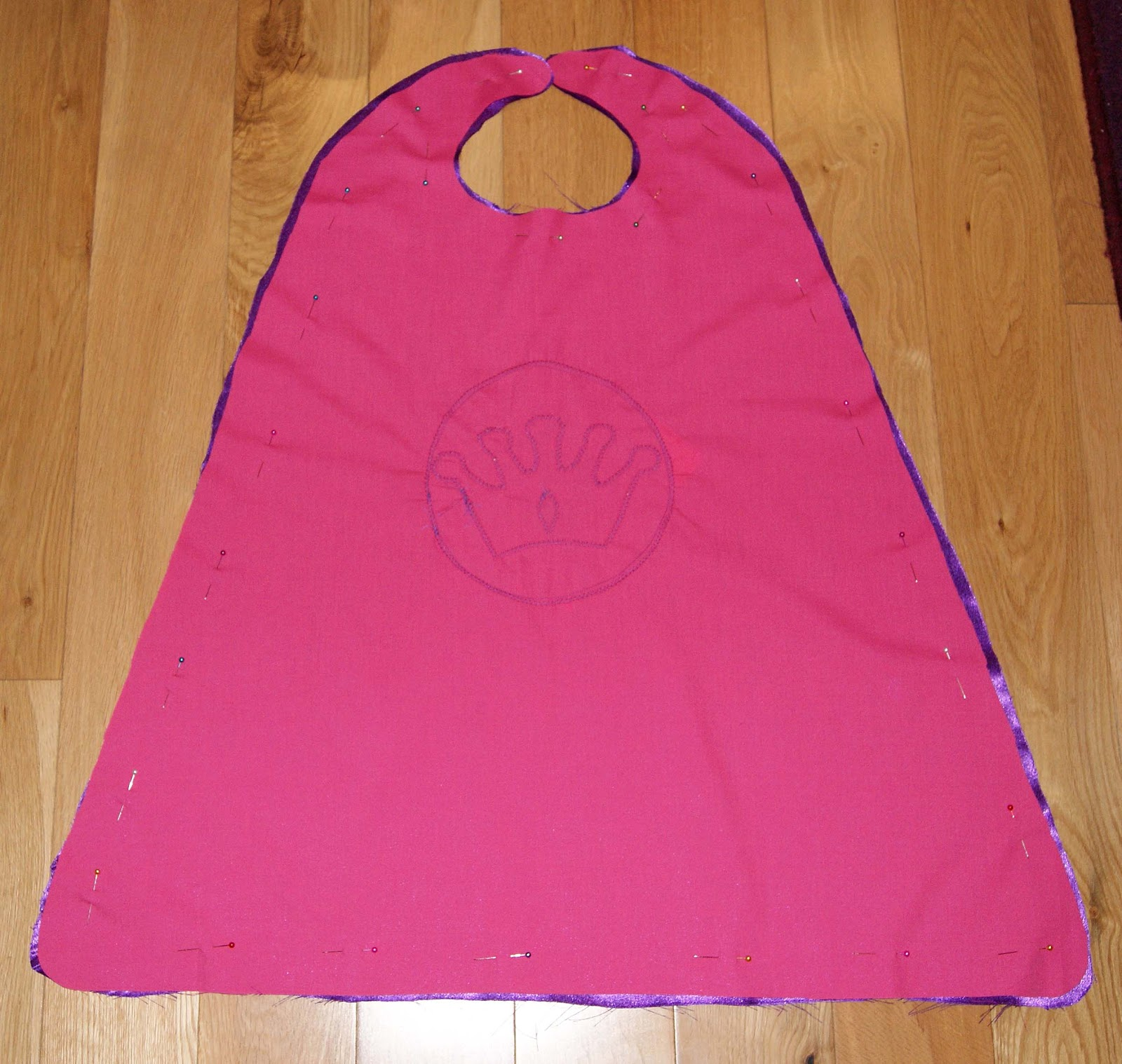 Being Inspired Princess Super Hero Cape