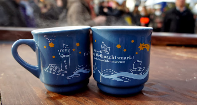 First glühwein of the weekend - Cologne Harbour Christmas Market