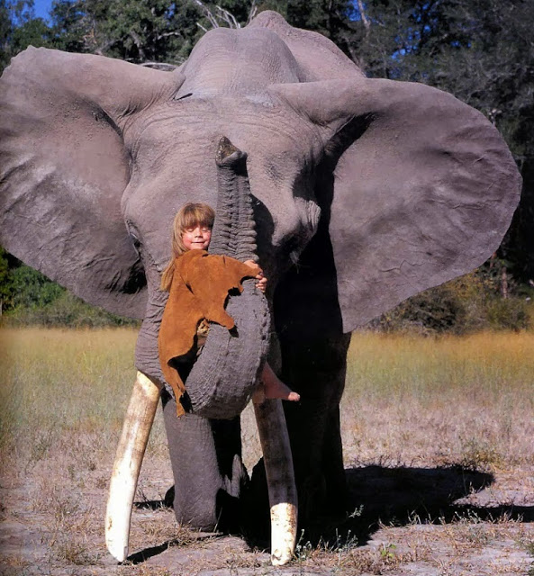 The Incredible Story of Tippi Degré Who Grew Up Alongside Wild Animals