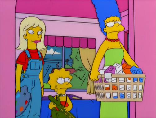 la boda de otto, la novia de Otto,Marge Está Loca, Loca, Loca, Loca