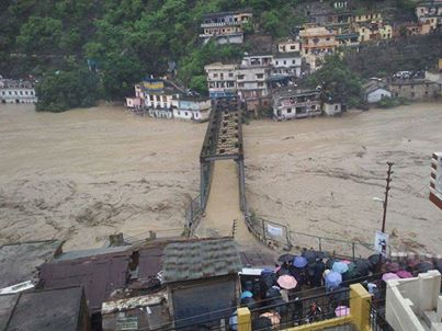 Photos that speak the extent of damage at Uttrakhand