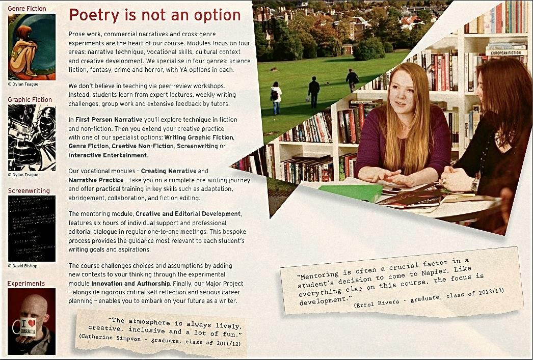 Edinburgh University Creative Writing
