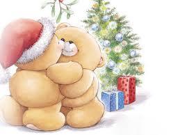 Imagens para decoupage de natal - ursos natalinos