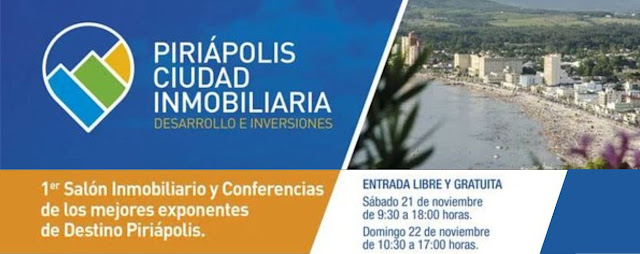Afiche Piriápolis Ciudad Inmobiliaria