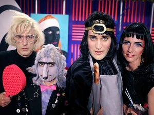 Noel Fielding's Luxury Comedy Dolly Andy Warhol Smooth