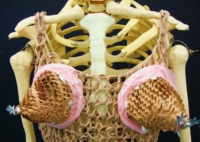 Rubber band dress -  Cone bras